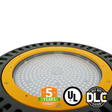 LED UFO High Bay - 240W - 5700K - PMMA Optical Lens - Hook Mount - (UL+DLC)