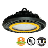 LED UFO High Bay - 150W - 5700K -  PMMA Optical Lens - Hook Mount - (UL+DLC)