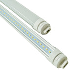 8ft 40W LED Tube - R17D Base - High Output Base - Bypass - (ETL) - Green Light Depot