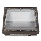 80W LED Wall Pack Light - Semi-Cutoff - Forward Throw - DLC Listed - Green Light Depot
