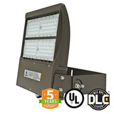 LED Flood Light - 150W - Outdoor LED Flood Mount - 5700K - DLC Listed - 5 Year Warranty
