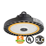 LED UFO High Bay - 150W - (UL+DLC) - Hook Mount - 5 Year Warranty - Green Light Depot