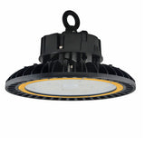 LED UFO High Bay - 100W - Hook Mount - Tempered Glass - (UL+DLC)