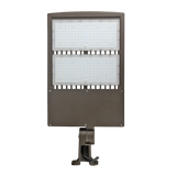 LED Flood Light - 300W - High Voltage 480V - Outdoor LED Luminaire Yoke Mount - DLC Listed - 5 Year Warranty - 5700K - With Photocell Capability - Green Light Depot