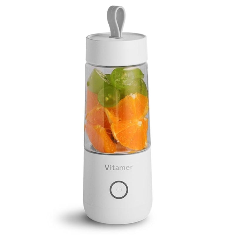 Portable Fruit Juicer and Smoothie Blender Mixer Electric USB Rechargeable