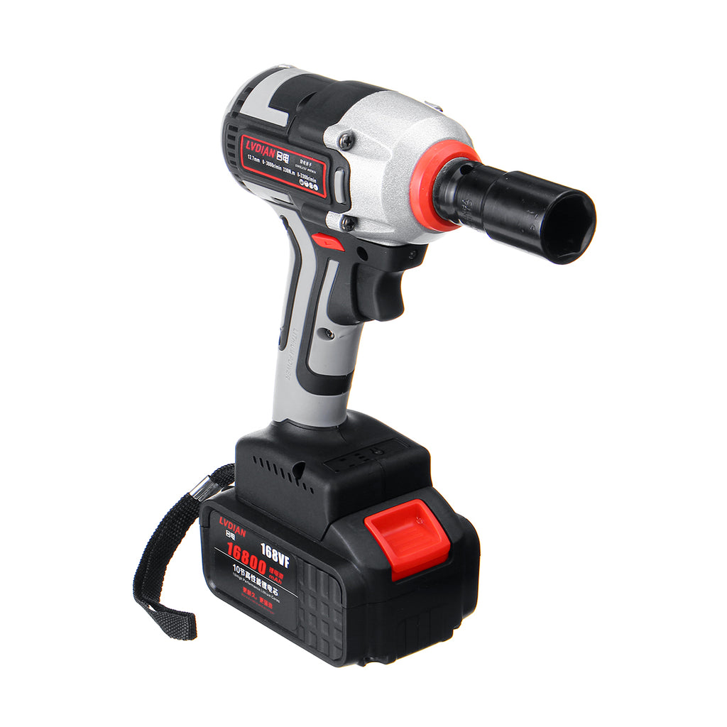 Coire™ 330Nm 168TV Brushless Cordless Electric Impact Wrench Drill Tool With Sleeve