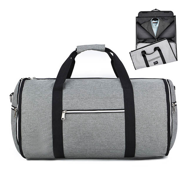 Poly™ 2 In 1 Waterproof Yoga Bag-Travel Shoulder Bag-Large Duffel Totes Carry Hand Bag in Grey