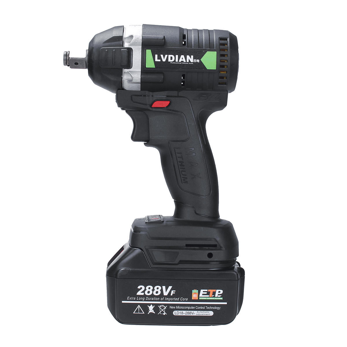 Coire™ 288VF 630N.m 19800mAh Brushless Electric Cordless Impact Wrench-Power Tool