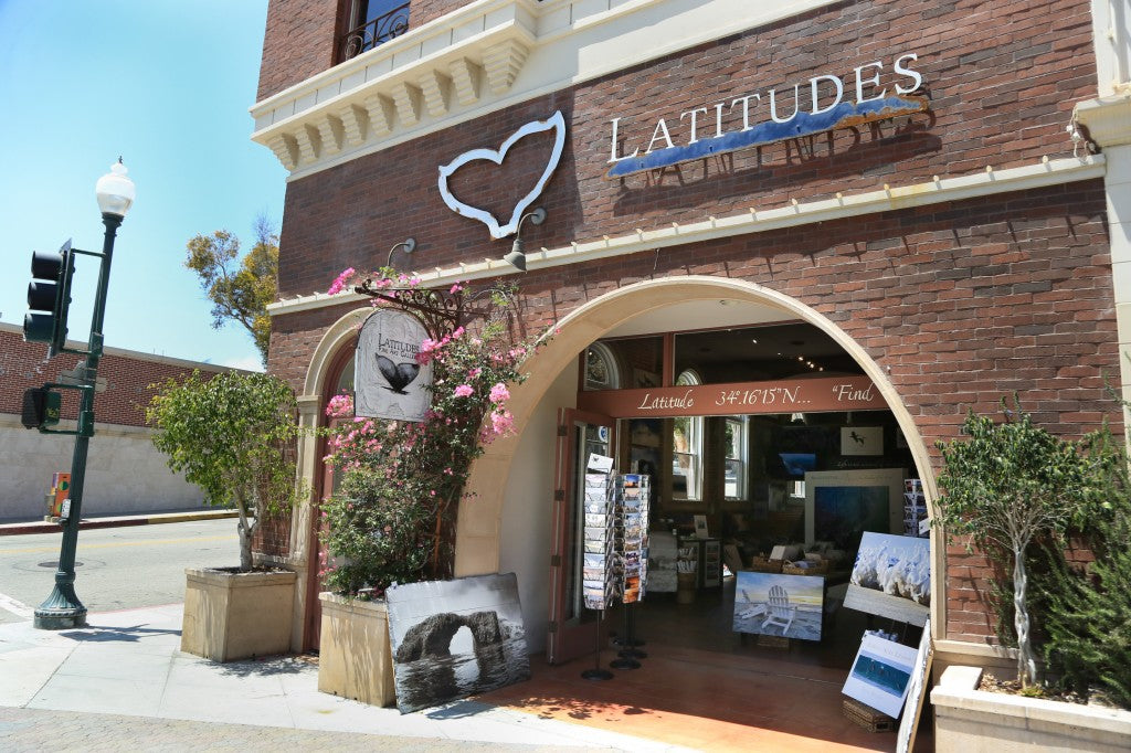 Latitudes Fine Art Photography Gallery in Ventura CA. Located at 401 E. Main Street.
