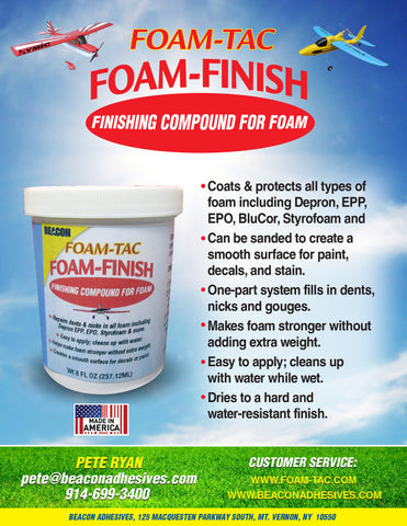 Foam-Finish Finishing Compound