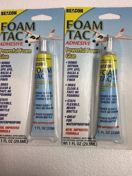 """New"" Foam-Tac 1 ounce Dual Pack"