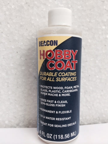 """HOBBY COAT""  Protective Coating and sealer"