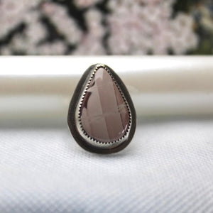 Polychrome Jasper & Sterling Silver Ring