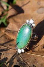 Load image into Gallery viewer, Hubei Turquoise and Sterling Silver Ring