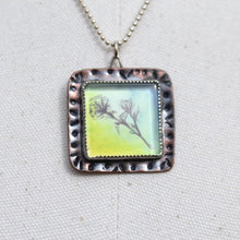 Load image into Gallery viewer, Watercolors, Copper, & Sterling Silver Necklace(s)