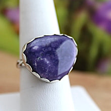 Load image into Gallery viewer, Tiffany Stone & Sterling Silver Ring