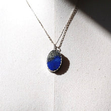 Load image into Gallery viewer, Lapis Lazuli & Sterling Silver Necklace