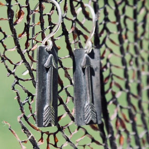 Sterling Silver Arrow Earrings