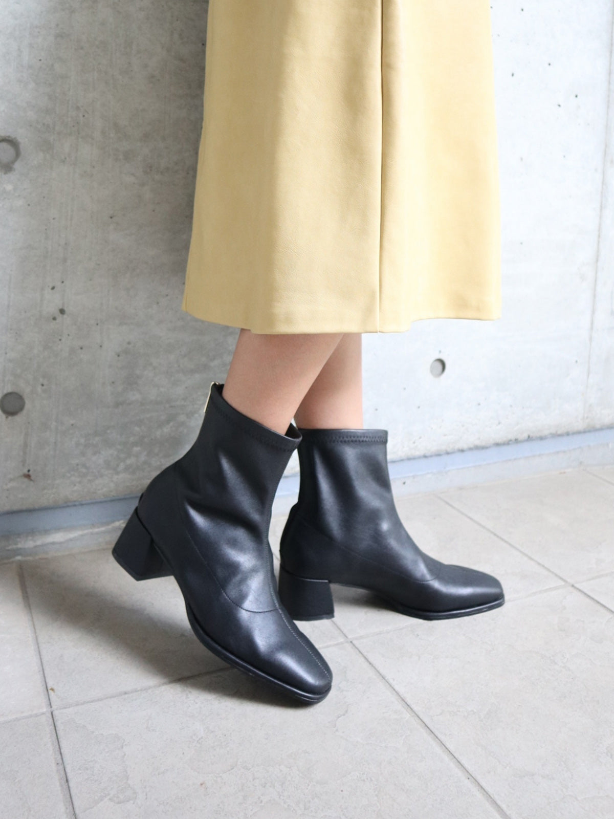 ECO LEATHER BOOTS
