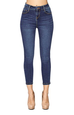 High Rise Ankle Jeans