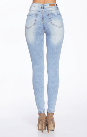 Load image into Gallery viewer, High Rise Skinny Jeans