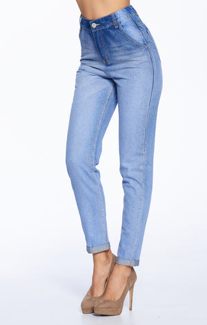 High Rise Mom Jeans