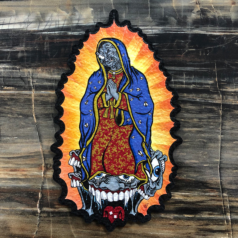 Lunar Guadalupe by Aaron Brooks