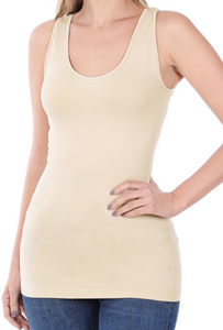 Seamless Stretch Tank Plus