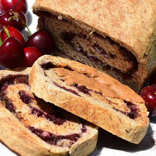 Cinnamon Cherry Spiced Sourdough Bread