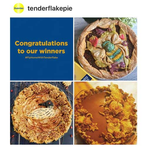 Fly Home with Tenderflake Contest