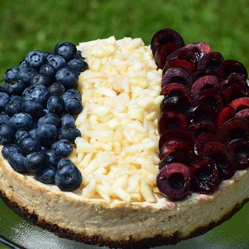Salute to France Cheesecake