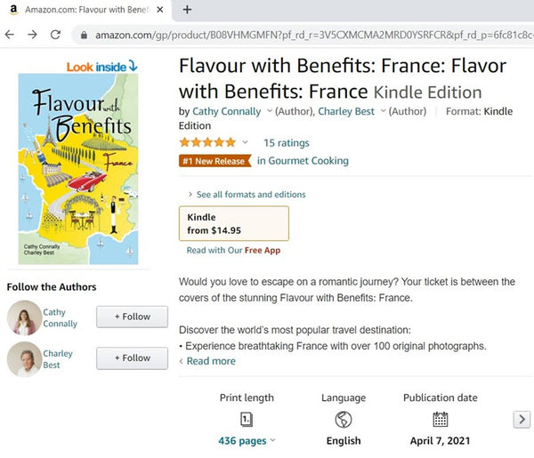 Flavour with Benefits: France - Amazon Ranked Number 1