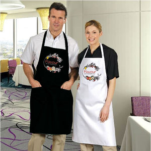 Open image in slideshow, Flavour with Benefits Bib Aprons with Pockets