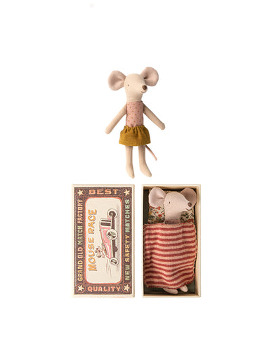 Maileg Big Sister Mouse - Gold Skirt - gift-for-little-ones