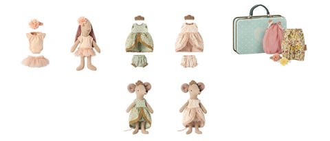 Maileg Micro bunny, big sister mouse clothing - gifts-for-little-ones