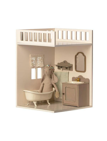 Maileg House of Miniature - Bathroom with bunny (11-0109-00)