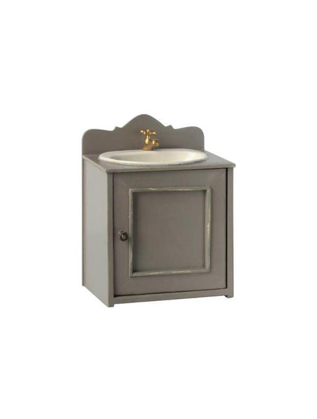 Maileg Miniature Bathroom Sink (11-0115-00) door closed