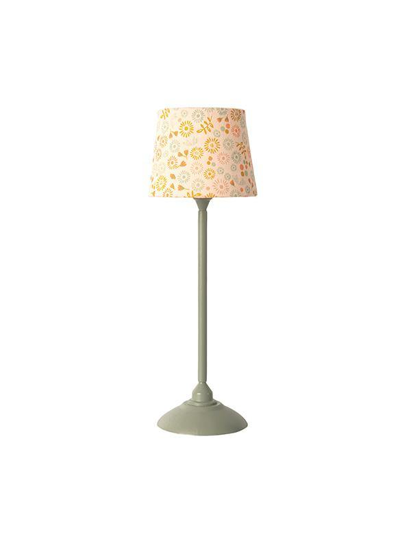 Maileg Miniature Floor Lamp - Mint (11-0116-00)