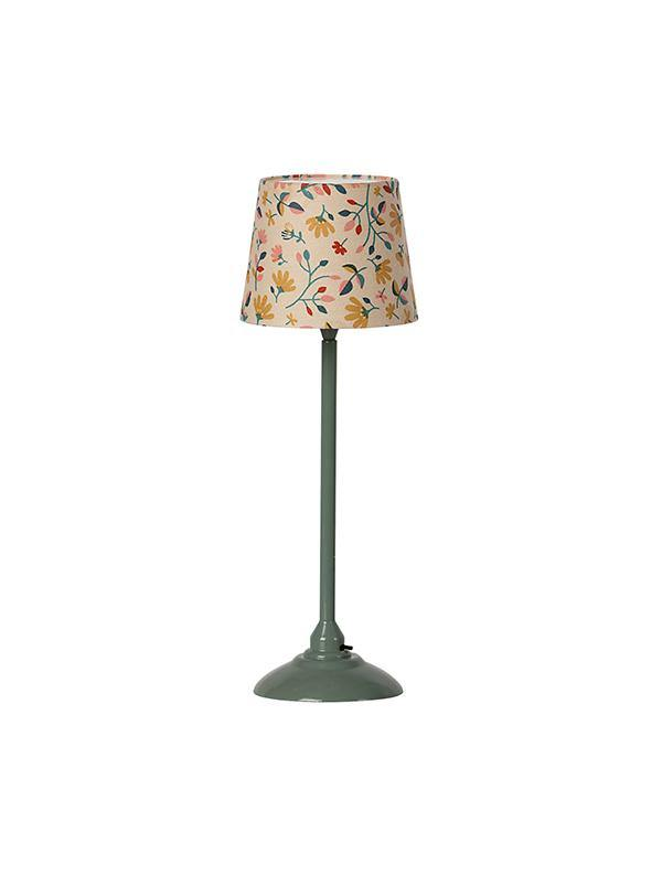 Maileg Miniature Floor Lamp - Dark Mint (11-0116-02)