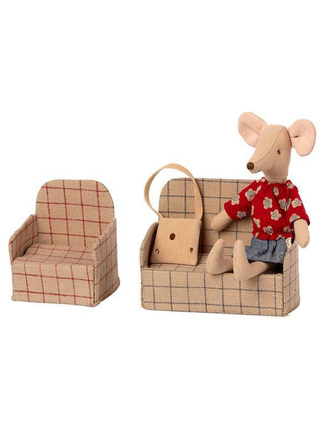 Maileg Mouse Couch (8cm) (11-0304-00)