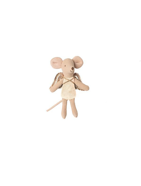 Maileg Little Sister Fairy Mouse - Cream