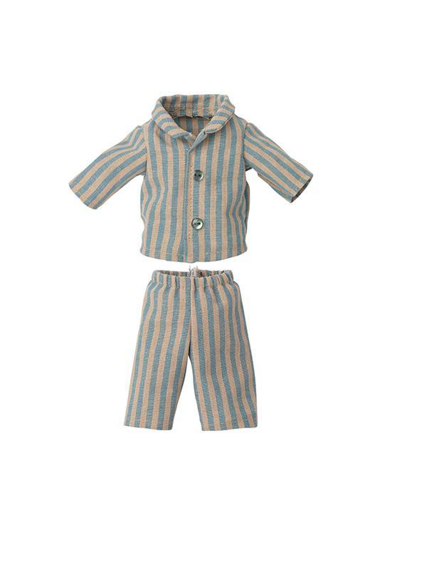 Maileg Pyjamas for Teddy Junior - Stripey
