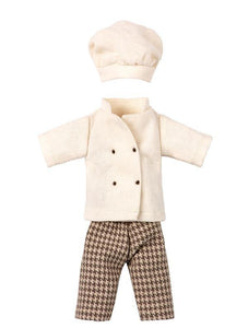 Maileg Chef Mouse Outfit - Mother/Father Size