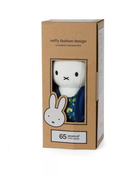 Miffy 65th Fashion Collection - Matisse Soft Toy Rabbit (24.182.271) - Boxed