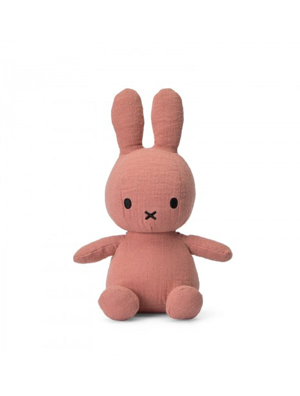 Miffy Sitting - Pink Mousseline Soft Toy Rabbit (24.182.311)