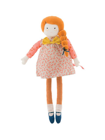 Moulin Roty Les Parisiennes Mademoiselle Colette Soft Doll