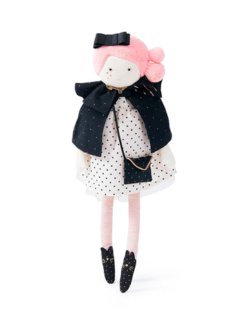 Moulin Roty Mademoiselle Constance Soft Doll - Limited Edition - Les Parisiennes 642525