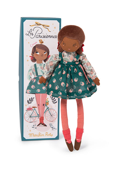 Moulin Roty Les Parisiennes New Mademoiselle Cerise Soft Doll (642529)