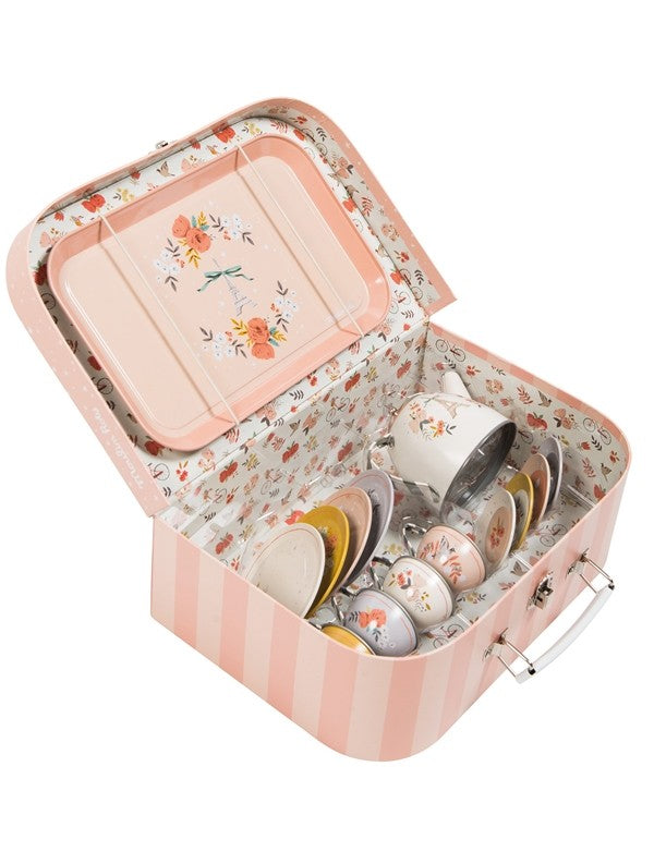 Moulin Roty Les Parisiennes Tea Set In A Suitcase (642531)