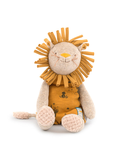 Moulin Roty Sous Mon Baobab Paprika the Lion doll